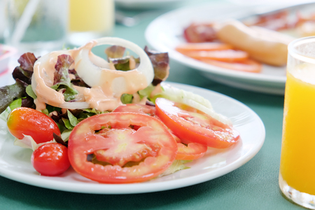 break fast: break fast, salad