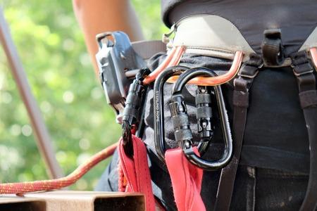 belaying: Climbing Equipment,image of Rockclimbing Gear background