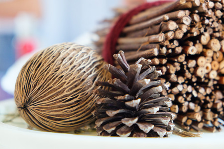 pinecones: Pinecones and dried Plants, home decoration