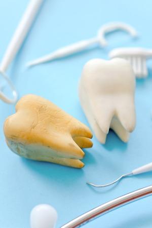 concept image of dental background