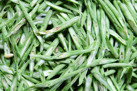 long bean: Fresh sliced yardlong bean