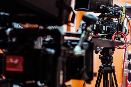 Film Crew Background Imagens