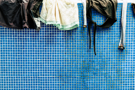 Clothes drying background