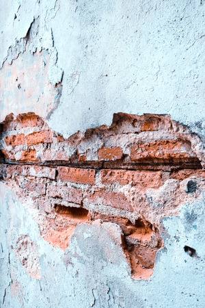 close up of Old brick wall background