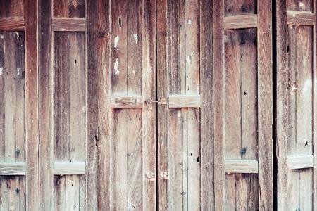 Old wooden door background