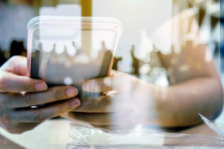 Multiple exposure of smart phone