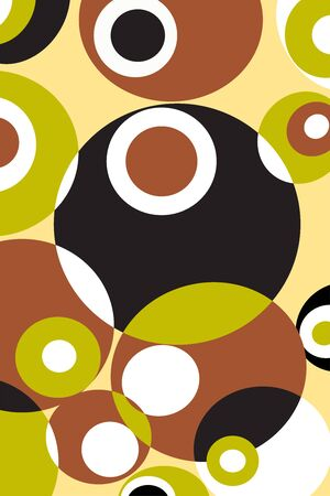 Abstract of geometric shapes pattern. retro style 向量圖像