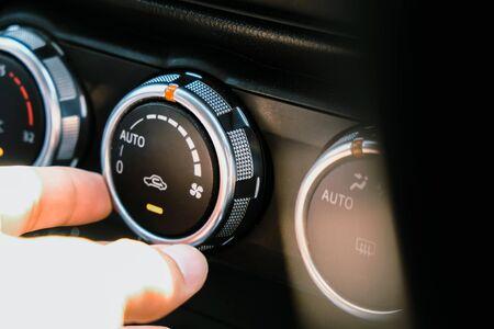 Imagen del aire acondicionado del coche