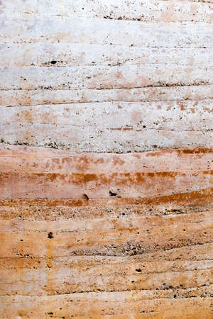Texture of an old brown wall background