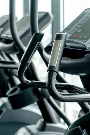 Detail image of Treadmill in fitness room background