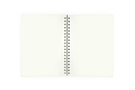 open book on white background Stock Photo - 10930257