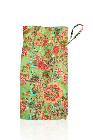 fabric bag: full color fabric bag Stock Photo
