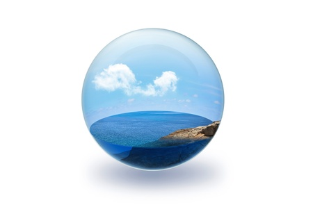 Sea in Glass Stock Photo - 11159009