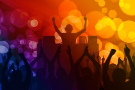 clubbers: acci�n en el partido Foto de archivo