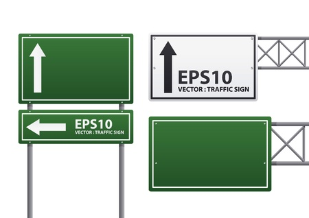 sign pole:  traffic sign  Illustration