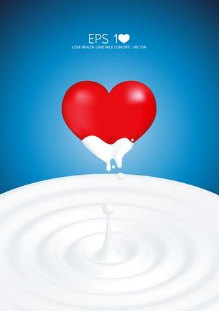milk drop: love healthy love milk