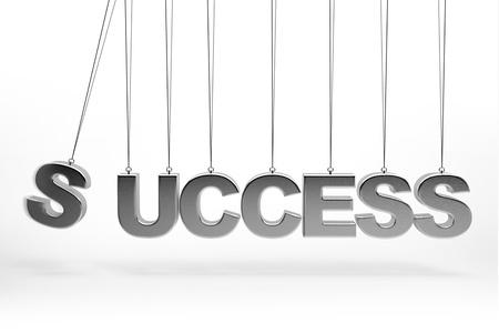 Balancing balls Concept 3d success type photo