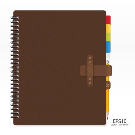 Let op papier met potlood