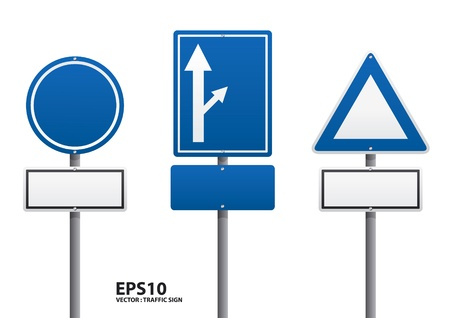 anywhere: vector traffic sign