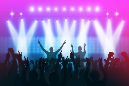 concert party photo