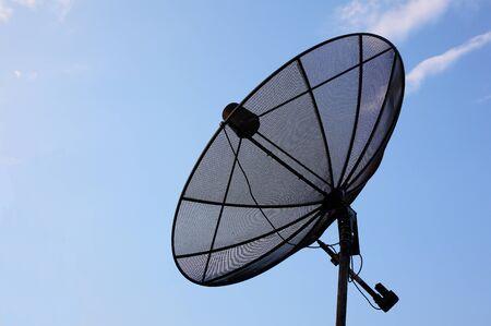 snoop: Satellite dish Stock Photo