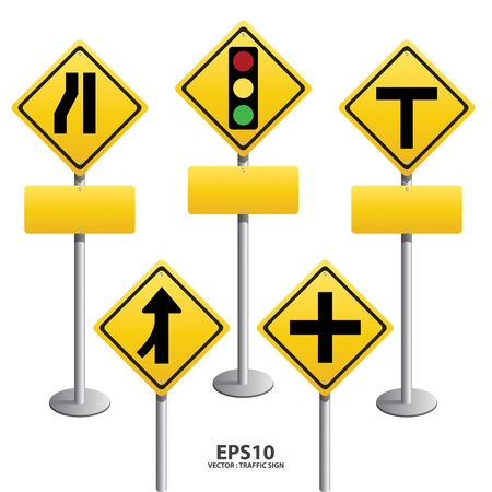 information highway: vector Signs straight,icon