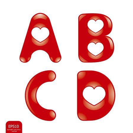 Love alphabet Stock Vector - 13321613