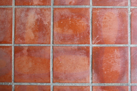 red floor tile photo