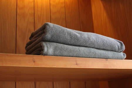 towel in hotel Stock Photo - 13405641