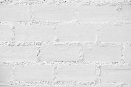 White Brick Wall Texture Background photo