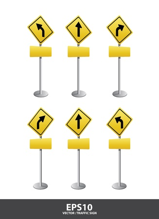 road Signs  vector Stock Vector - 13618006