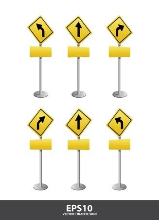 road Signs  vector Vector
