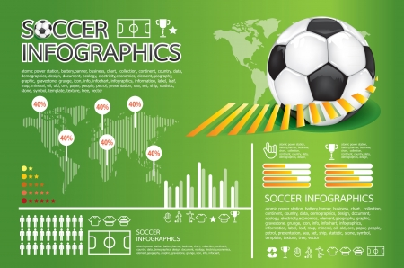 soccer info graphic Stock Vector - 13834520