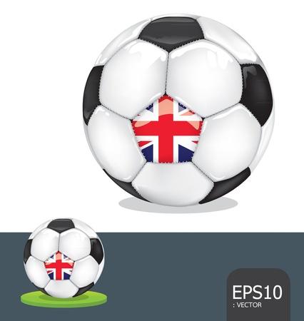 soccer euro2012 england Stock Vector - 13971481