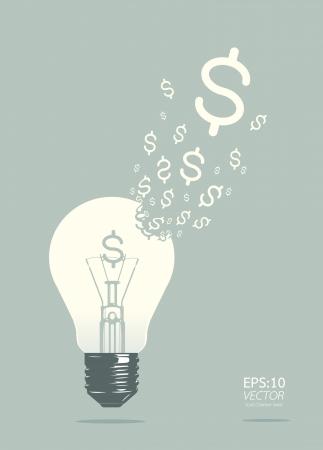 cajas fuertes: luz del concepto de negocio Vectores