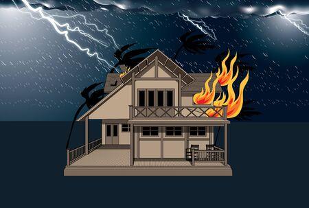 destroy: storm destroy  Illustration