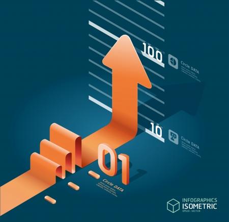 infographic arrow diagram chart Stock Vector - 15328466