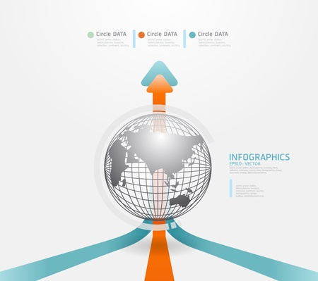 infomation: Modern infographics set and Information Graphics vector