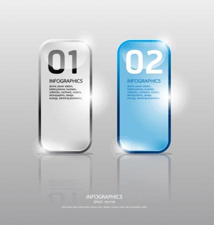 glans: Ram Glas set Transparent glasplattor Vector illustration Lämplig för infographics grafisk design eller webbdesign