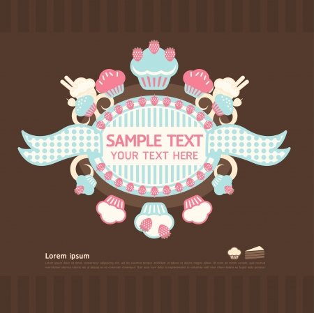 cake cards  Stock Vector - 15661891