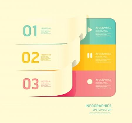 Modern soft color Design template Stock Vector - 15831624