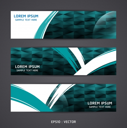 Collection banner design Horizontal Vector