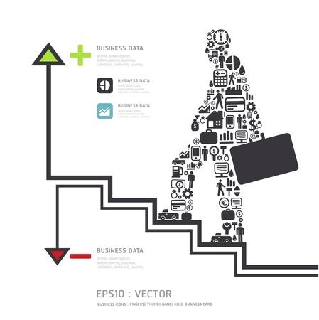 Elementen zijn kleine pictogrammen Vector Illustratie