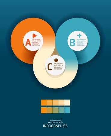 Modern Circle Design template