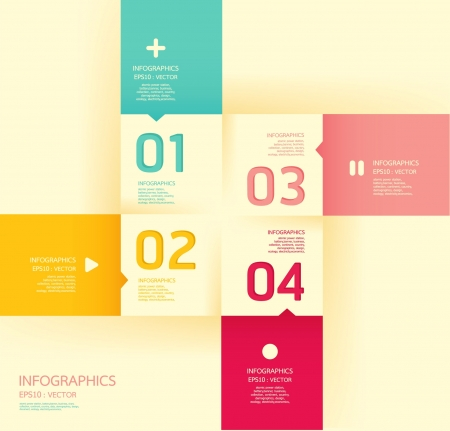 abstract template: Modern   soft color Design template