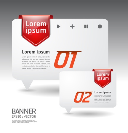 exclusive icon: Modern arrow Design template  can be used for infographics  numbered banners  horizontal cutout lines  graphic or website layout illustration.