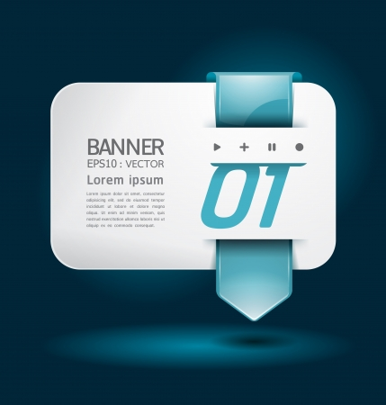 box template: Modern arrow Design template  can be used for infographics  numbered banners  horizontal cutout lines  graphic or website layout illustration.