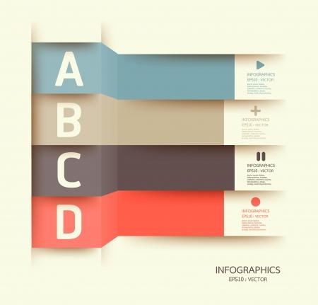 주형: 현대 디자인 템플릿은 인포 그래픽 번호가 배너 가로 컷 아웃 라인 그래픽 또는 웹 사이트 레이아웃을 사용할 수 있습니다 일러스트
