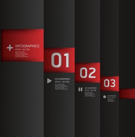 디자인: 현대 디자인 템플릿은 인포 그래픽 번호가 배너 가로 컷 아웃 라인 그래픽 또는 웹 사이트 레이아웃을 사용할 수 있습니다 일러스트