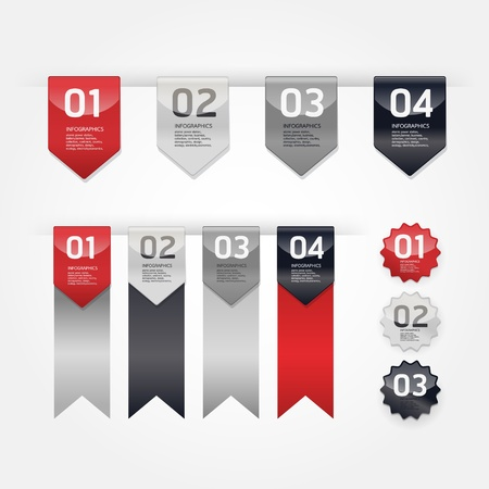 Modern Design Labels Stock Vector - 17997514